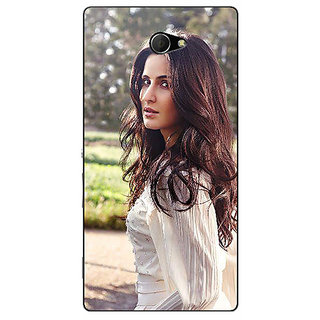 EYP Bollywood Superstar Katrina Kaif Back Cover Case For Sony Xperia M2 310981