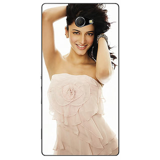 EYP Bollywood Superstar Shruti Hassan Back Cover Case For Sony Xperia M2 310985