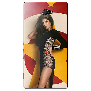 EYP Bollywood Superstar Katrina Kaif Back Cover Case For Sony Xperia M2 310986