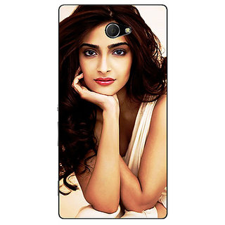 EYP Bollywood Superstar Sonam Kapoor Back Cover Case For Sony Xperia M2 311016