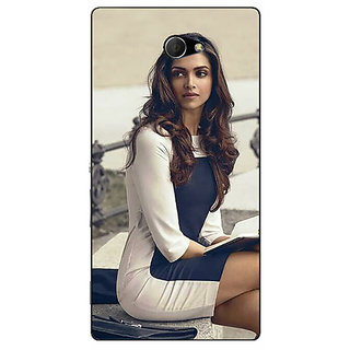 EYP Bollywood Superstar Deepika Padukone Back Cover Case For Sony Xperia M2 311019