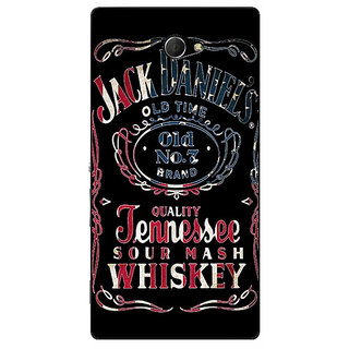 EYP Jack Daniels JD Whisky Back Cover Case For Sony Xperia M2 311223