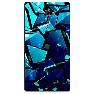 EYP Crystal Prism Back Cover Case For Sony Xperia M2 311412