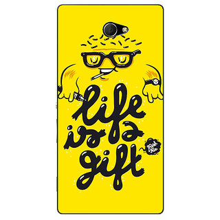 EYP Life Quote Back Cover Case For Sony Xperia M2 311415