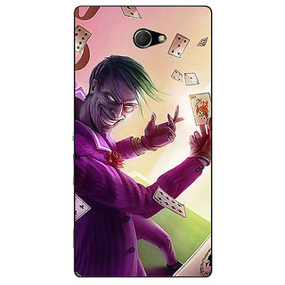 EYP Joker Back Cover Case For Sony Xperia M2 311441