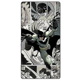 EYP Batman Comic Back Cover Case For Sony Xperia M2 311443