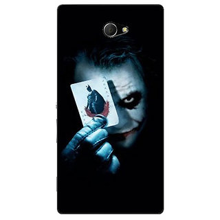 EYP Villain Joker Back Cover Case For Sony Xperia M2 Dual 320032