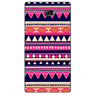 EYP Aztec Girly Tribal Back Cover Case For Sony Xperia M2 Dual 320053