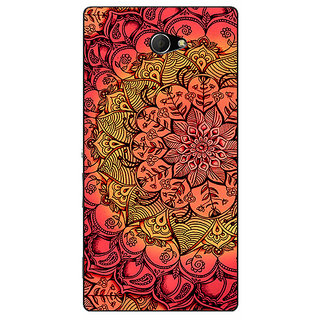 EYP Red DayDream Pattern Back Cover Case For Sony Xperia M2 Dual 320214