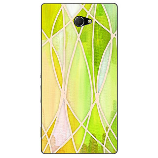 EYP Designer Geometry Pattern Back Cover Case For Sony Xperia M2 Dual 320236