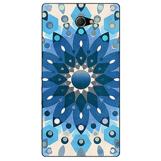 EYP Dream Flower Pattern Back Cover Case For Sony Xperia M2 Dual 320255
