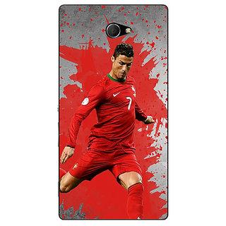 EYP Cristiano Ronaldo Portugal Back Cover Case For Sony Xperia M2 Dual 320318