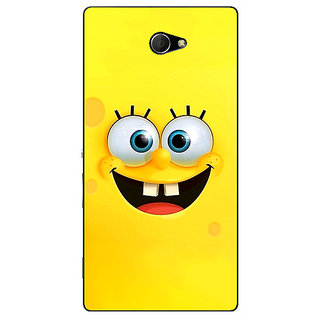 EYP Spongebob Back Cover Case For Sony Xperia M2 Dual 320467