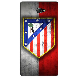 EYP Athletico Madrid Back Cover Case For Sony Xperia M2 Dual 320521
