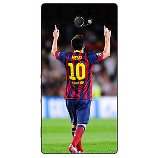 EYP Barcelona Messi Back Cover Case For Sony Xperia M2 Dual 320532