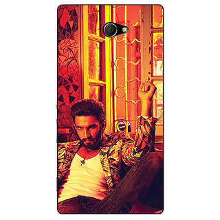 EYP Bollywood Superstar Ranveer Singh Back Cover Case For Sony Xperia M2 Dual 320905