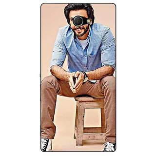 EYP Bollywood Superstar Ranveer Singh Back Cover Case For Sony Xperia M2 Dual 320921