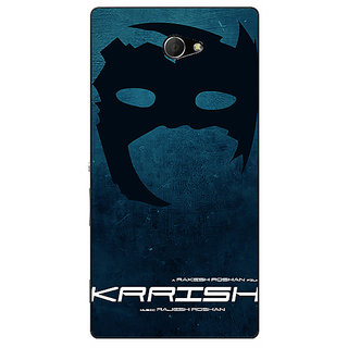 EYP Bollywood Superstar Krrish Back Cover Case For Sony Xperia M2 Dual 321129