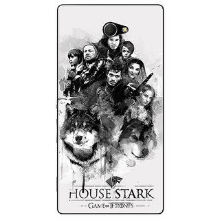 EYP Game Of Thrones GOT House Stark Back Cover Case For Sony Xperia M2 311541