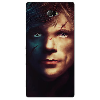 EYP Game Of Thrones GOT House Lannister Tyrion Back Cover Case For Sony Xperia M2 311559