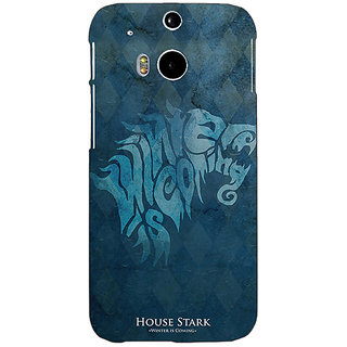 EYP Game Of Thrones GOT House Stark  Back Cover Case For HTC One M8 Eye 330128