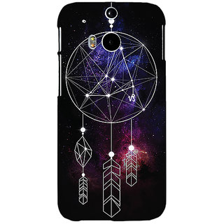 EYP Dream Catcher  Back Cover Case For HTC One M8 Eye 330194