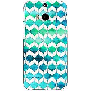 EYP Dream Patterns Back Cover Case For HTC One M8 Eye 330252
