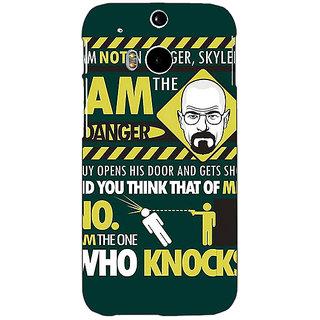 EYP Breaking Bad Heisenberg Back Cover Case For HTC One M8 Eye 330420