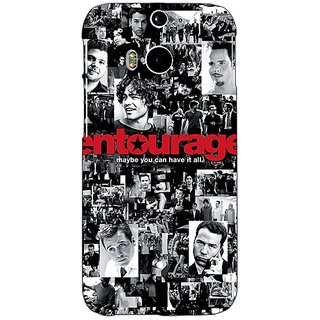 EYP Entourage Back Cover Case For HTC One M8 Eye 330438