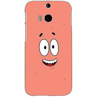 EYP Spongebob Patrick Back Cover Case For HTC One M8 Eye 330465