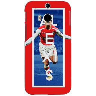 EYP Arsenal Alexis Sanchez Back Cover Case For HTC One M8 Eye 330506