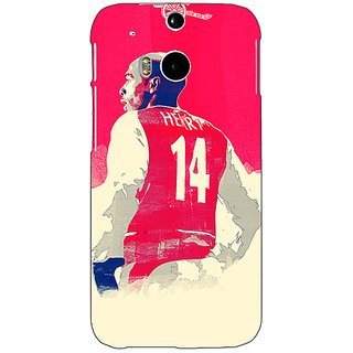 EYP Arsenal Therry Henry Back Cover Case For HTC One M8 Eye 330517
