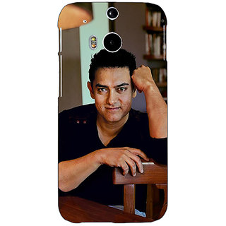 EYP Bollywood Superstar Aamir Khan Back Cover Case For HTC One M8 Eye 330915