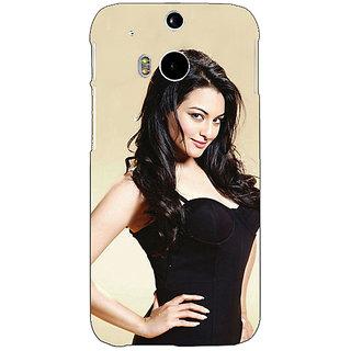 EYP Bollywood Superstar Sonakshi Sinha Back Cover Case For HTC One M8 Eye 331068