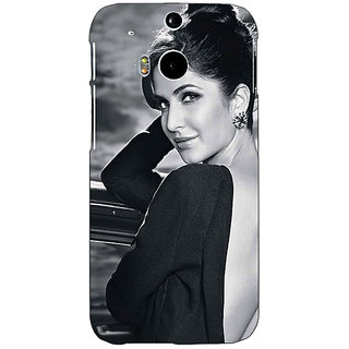 EYP Bollywood Superstar Katrina Kaif Back Cover Case For HTC One M8 Eye 331073