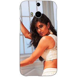 EYP Bollywood Superstar Katrina Kaif Back Cover Case For HTC One M8 Eye 331077