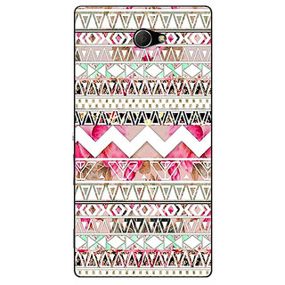 EYP Aztec Girly Tribal Back Cover Case For Sony Xperia M2 Dual 320066