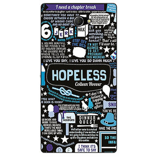 EYP TFIOS HOPELESS  Back Cover Case For Sony Xperia M2 Dual 320108