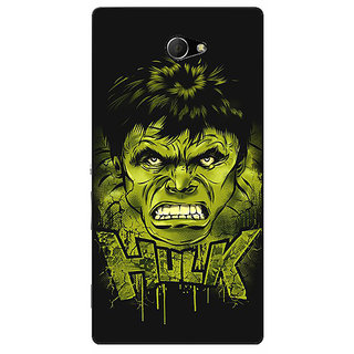 EYP Superheroes Hulk Back Cover Case For Sony Xperia M2 Dual 320324