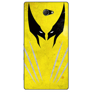 EYP Superheroes Wolverine Back Cover Case For Sony Xperia M2 Dual 320336