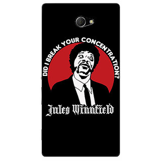 EYP Pulp Fiction Back Cover Case For Sony Xperia M2 Dual 320356