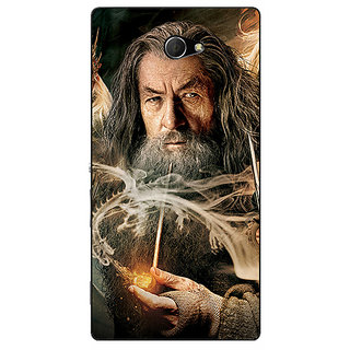 EYP LOTR Hobbit Gandalf Back Cover Case For Sony Xperia M2 Dual 320358