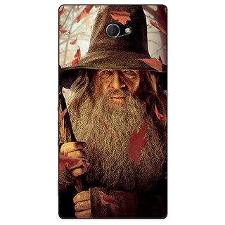 EYP LOTR Hobbit Gandalf Back Cover Case For Sony Xperia M2 Dual 320360