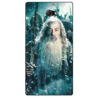 EYP LOTR Hobbit Gandalf Back Cover Case For Sony Xperia M2 Dual 320363