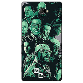 EYP Breaking Bad Heisenberg Back Cover Case For Sony Xperia M2 Dual 320401