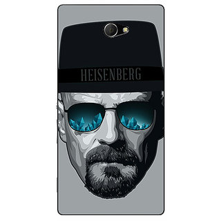 EYP Breaking Bad Heisenberg Back Cover Case For Sony Xperia M2 Dual 320413
