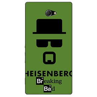 EYP Breaking Bad Heisenberg Back Cover Case For Sony Xperia M2 Dual 320414