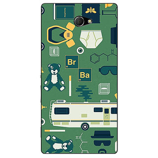 EYP Breaking Bad Back Cover Case For Sony Xperia M2 Dual 320415
