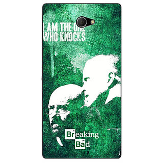 EYP Breaking Bad Heisenberg Back Cover Case For Sony Xperia M2 Dual 320423