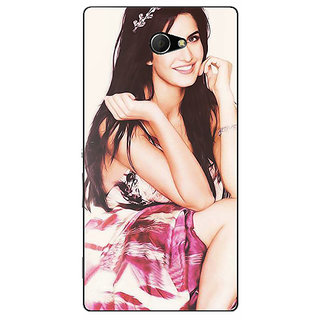EYP Bollywood Superstar Katrina Kaif Back Cover Case For Sony Xperia M2 Dual 320979